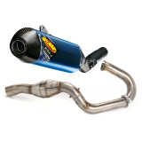 FMF Factory 4.1 Titanium Slip-On RCT With Megabomb Header And Carbon Fiber End Cap - Dirt Bike Exhaust Systems & Accessories
