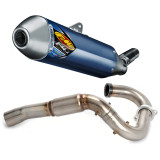 FMF Factory 4.1 Titanium Slip-On RCT With Powerbomb Header - Dirt Bike Exhaust Systems & Accessories