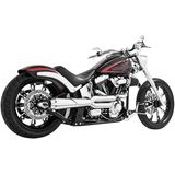 Freedom Performance American Outlaw High 2-Into-1 Exhaust - Cruiser Full Exhaust Systems