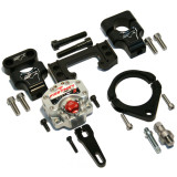 Fastway System 5 Steering Stabilizer Under-Bar Kit - Honda Dirt Bike Bars and Controls