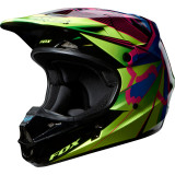 Fox Racing 2014 V1 Helmet - Radeon - Dirt Bike Motocross Helmets