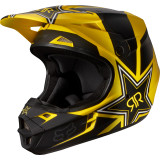 Fox Racing 2014 V1 Helmet - Rockstar - Dirt Bike Motocross Helmets