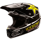 Fox Racing 2013 Youth V1 Helmet - Rockstar - Utility ATV Off Road Helmets