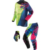 Fox Racing 2014 180 / HC Combo - Radeon -  Dirt Bike Pants, Jersey, Glove Combos