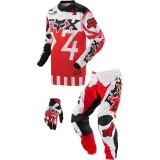 Fox Racing 2014 Youth 180 / HC Combo - Anthem - Fox Utility ATV Pants, Jersey, Glove Combos