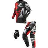 Fox Racing 2014 Youth 180 / HC Combo - Honda - Fox Utility ATV Pants, Jersey, Glove Combos