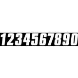 Factory Effex Factory Numbers - Dirt Bike Graphics
