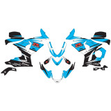 Factory Effex EV-R Complete Graphic Kit - Motorcycle Decals & Graphic Kits