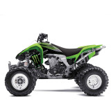 Factory Effex Monster Energy ATV Graphics - Kawasaki - ATV Graphics, Decals, Seats and Seat Covers