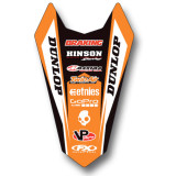 2015 Rear Fender Decal - KTM - Factory Effex 2013 Rear Fender Decal - KTM