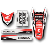 Factory Effex 2016 Standard Trim Kit - Honda - Dirt Bike Trim Decals