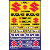 Factory Effex Suzuki Decal Sheet - Dirt Bike Graphics