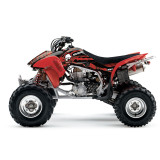 Factory Effex Metal Mulisha ATV Graphics Kit - Honda - ATV Graphics, Decals, Seats and Seat Covers