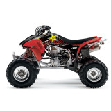 Factory Effex Rockstar ATV Graphics Kit - Honda - ATV Graphics, Decals, Seats and Seat Covers