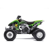 Factory Effex Rockstar ATV Graphics Kit - Kawasaki - ATV Graphics, Decals, Seats and Seat Covers