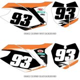 Factory Effex DX1 Backgrounds Elite - KTM - Dirt Bike Body Parts and Accessories