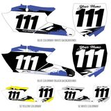 Factory Effex DX1 Backgrounds Elite - Yamaha - Dirt Bike Body Parts and Accessories