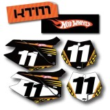 Factory Effex DX1 Backgrounds Hot Wheels - KTM - Dirt Bike Body Parts and Accessories