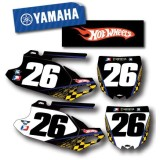 Factory Effex DX1 Backgrounds Hot Wheels - Yamaha - Dirt Bike Body Parts and Accessories