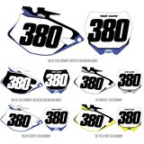 Factory Effex DX1 Backgrounds Pro - Yamaha - Dirt Bike Body Parts and Accessories