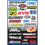 Factory Effex Sponsor Kit - ATV Graphics, Decals, Seats and Seat Covers