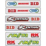 Factory Effex Swingarm Decals - ATV Graphics, Decals, Seats and Seat Covers