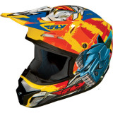 Fly 2014 Youth Kinetic Helmet - Fly-Bot - Utility ATV Off Road Helmets