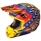 Fly 2013 Kinetic Pro Helmet - Andrew Short Replica - Dirt Bike Motocross Helmets