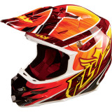 Fly 2014 F2 Carbon Helmet - Acetylene - Dirt Bike Motocross Helmets