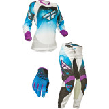 Fly 2014 Women's Kinetic Race Combo - Fly Dirt Bike Riding Gear