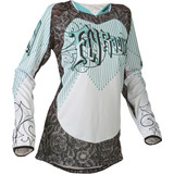 Fly 2015 Girl's Kinetic Jersey - Fly Utility ATV Products