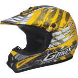 GMAX GM46Y Youth Helmet - Shredder - Utility ATV Off Road Helmets