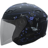 GMAX GM67 Helmet - Butterfly -  Open Face Motorcycle Helmets