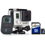 GoPro  HERO3 Plus Black Edition Kit - Motorcycle Products