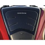 Honda Genuine Accessories Tank Pad - Carbon Fiber - Honda Genuine Accessories Motorcycle Body Parts