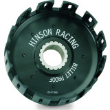 Hinson Billet Clutch Basket With Kickstarter Gear - Dirt Bike Clutches, Clutch Kits and Components