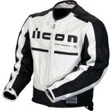 Icon Motorhead Leather Jacket - ICON Motorcycle Products