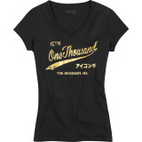 Icon 1000 Women's Gold Times T-Shirt - Motorcycle Womens Casual