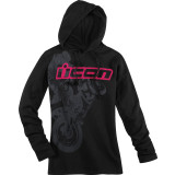 Icon Women's Britton Hoody - ICON Motorcycle Products