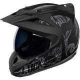 ICON Variant Helmet - Hard Luck -  Motorcycle Flip Up Modular Helmets