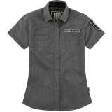ICON 1000 Women's Virtue Workshirt - Utility ATV Womens Casual