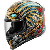 ICON Airframe Pro Helmet - Pharaoh - Full Face Motorcycle Helmets