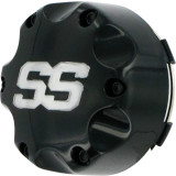 ITP SS Alloy Center Cap - Black - ATV Wheels