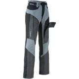 Grey/Black unzipped leg