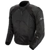 Joe Rocket Radar Dark Leather Jacket - Joe Rocket Motorcycle Jackets and Vests