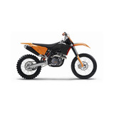 KTM PowerParts Factory Plastic Kit - Dirt Bike Body Kits, Parts & Accessories