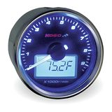 Koso GP Style Tachometer With Temperature Gauge