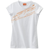 KTM OEM Parts 2014 Women's Logo T-Shirt - Motorcycle Womens Casual