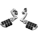 Kuryakyn Longhorn Offset Dually Highway Pegs With Quick Clamps