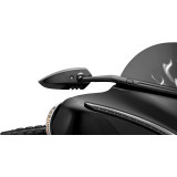 Kuryakyn Scythe Windshield Mount Mirrors - Cruiser Hand Controls